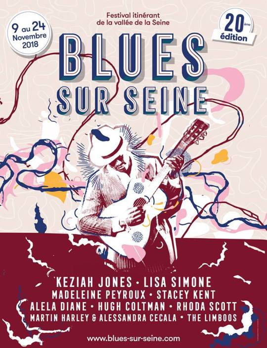 Festival Blues sur Seine 2018